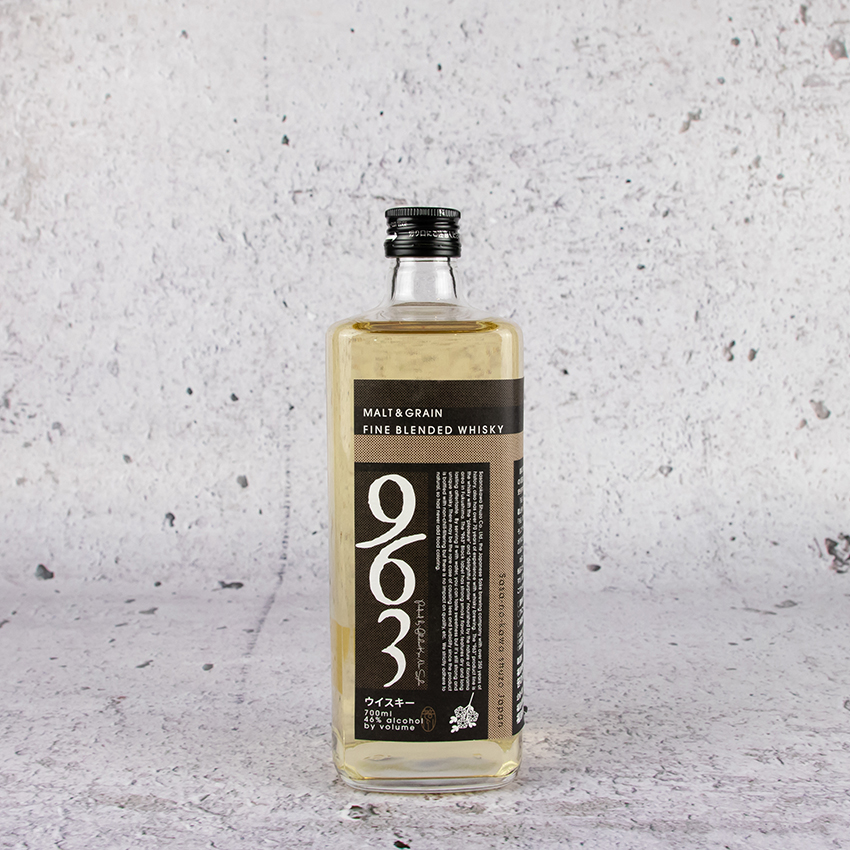 963 Black Label Malt and Grain Blended Whisky