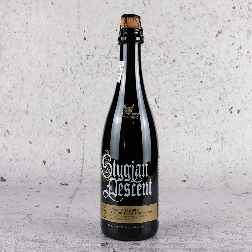Stone Stygian Descent Sublimely Self-Righteous Black IPA Batch #2