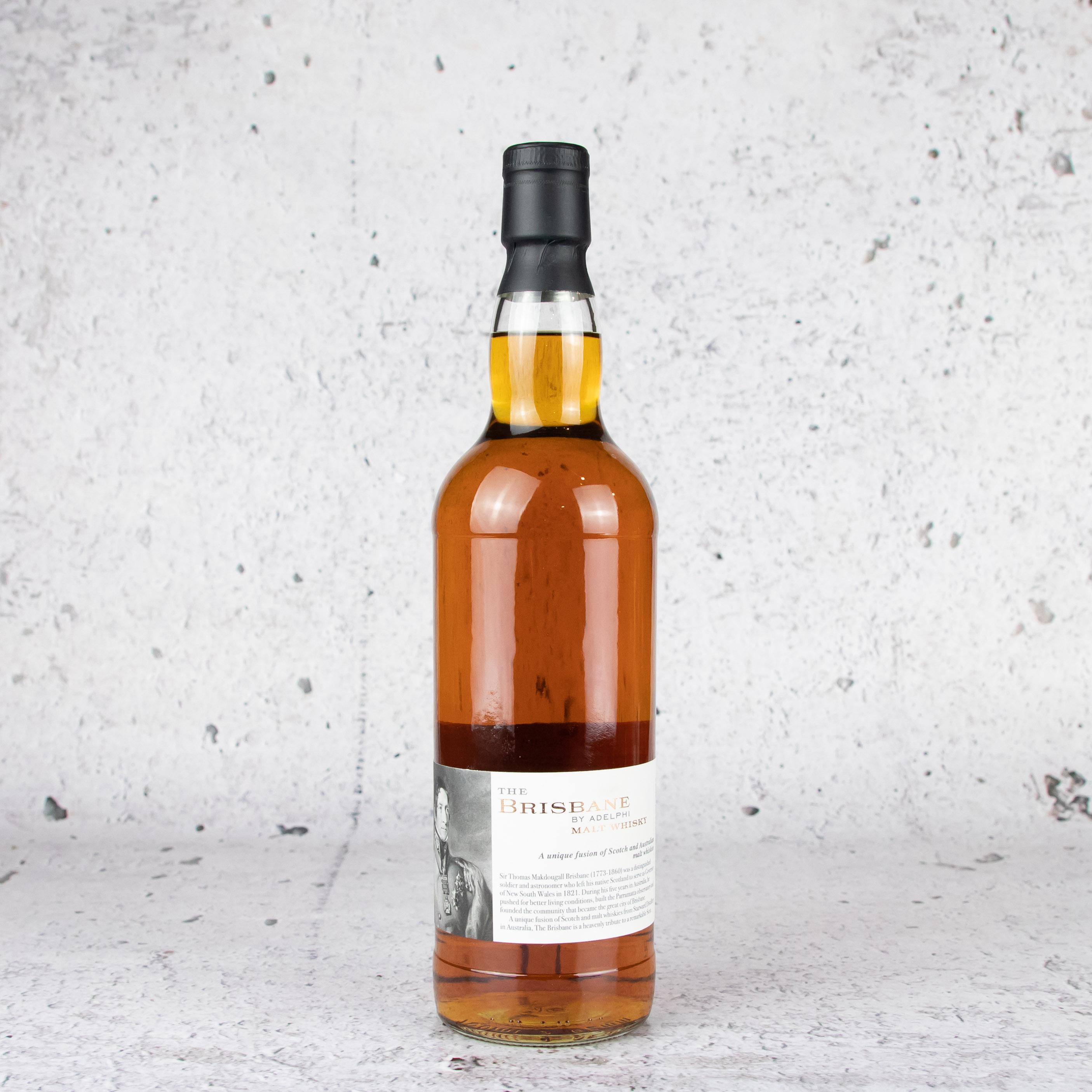 Adelphi The Brisbane 5 Y/O Fusion Malt Whisky