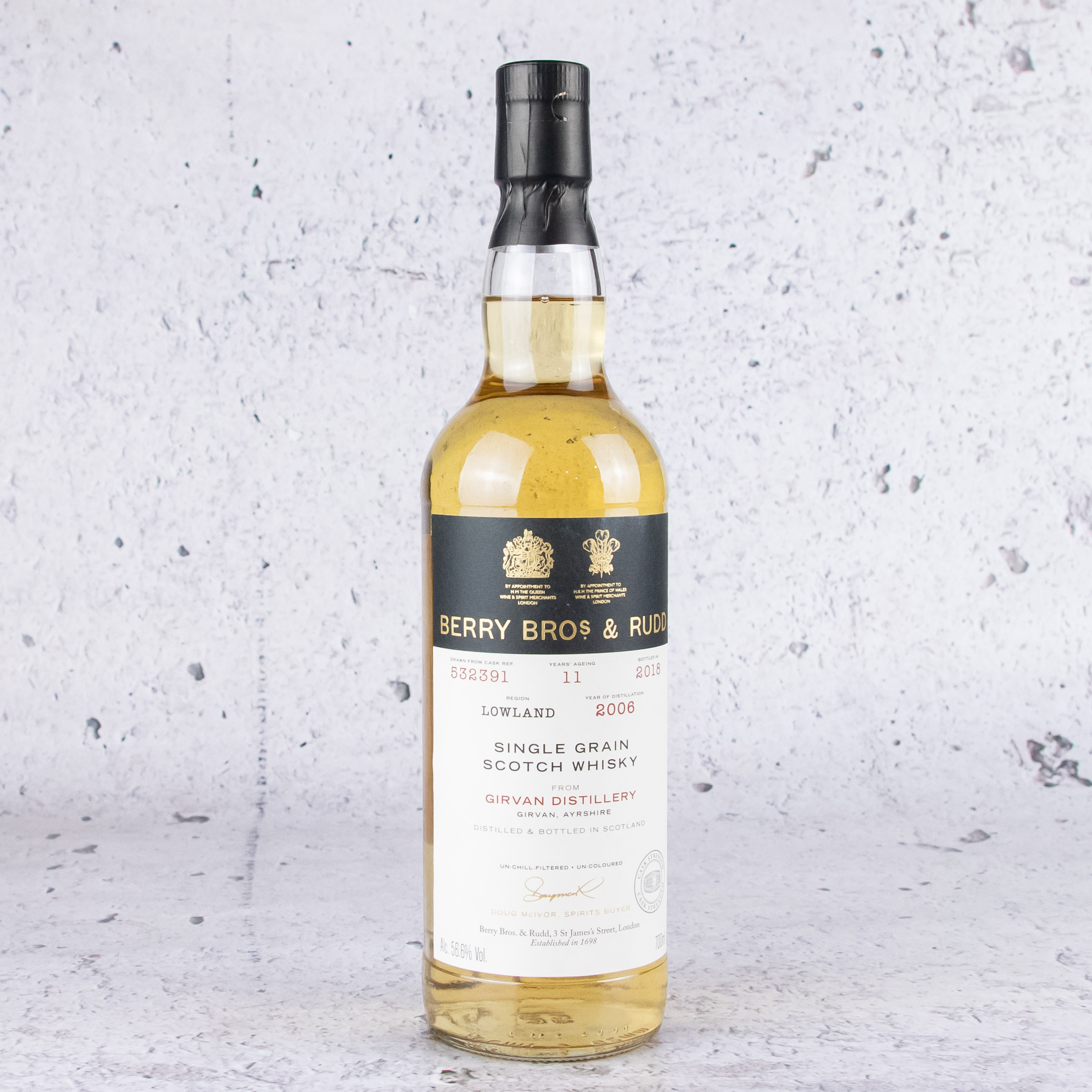 Berry Bros & Rudd Own Selection Girvan Single Cask 11 YO