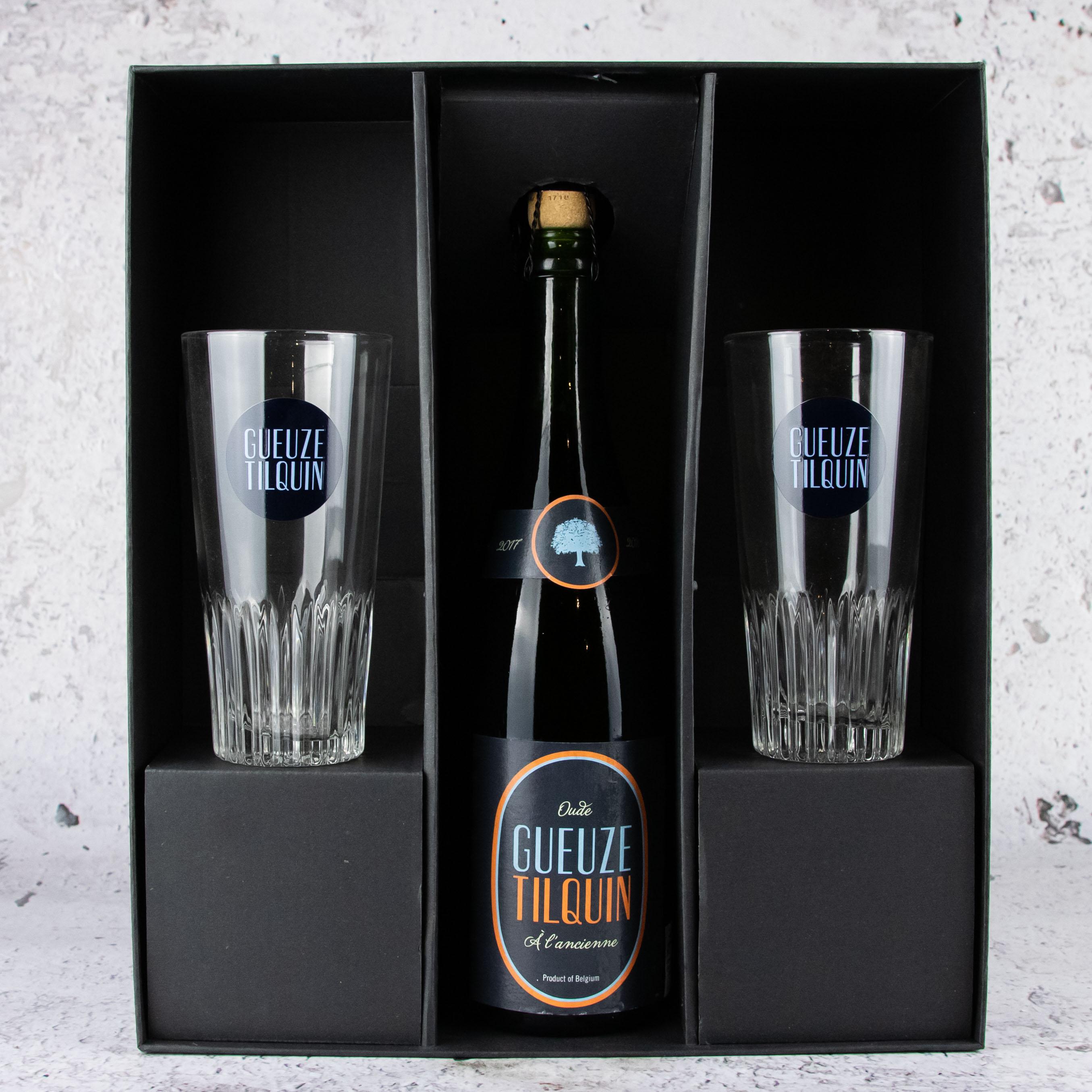 Tilquin Gueuze à l'ancienne + Beer Glass Pack