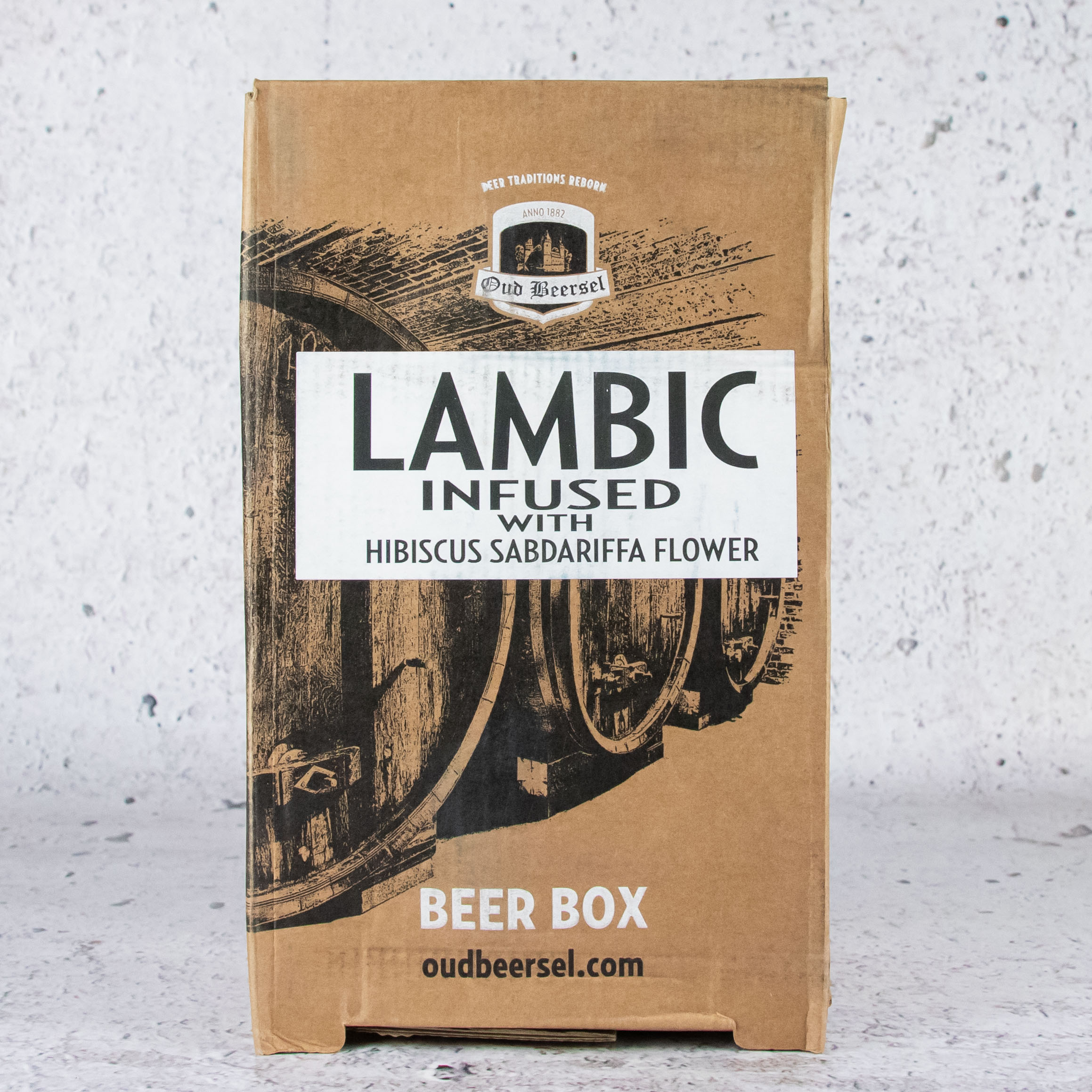 Oud Beersel Lambic Infused with Hibiscus Sabdariffa Flower 3.1 Litre Box