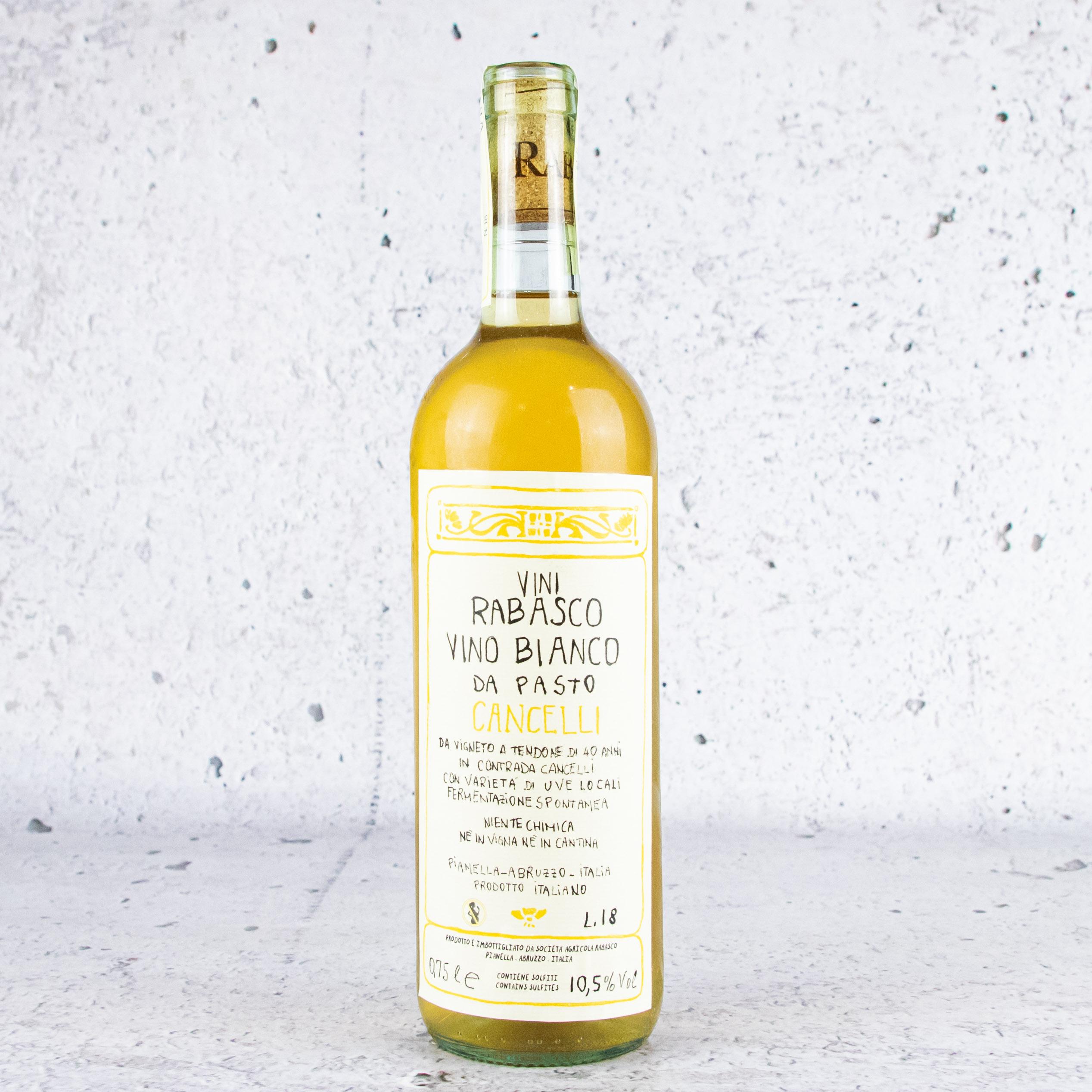 2018 Vini Rabasco Vino Bianco Da Pasto Cancelli