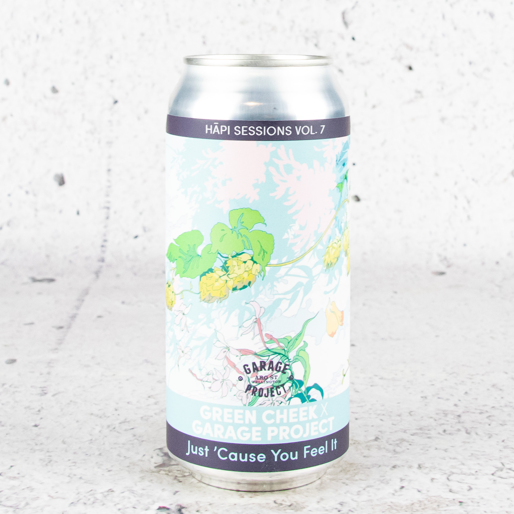 Garage Project x Green Cheek Hāpi Sessions: Just 'Cause You Feel It California Dry Double IPA