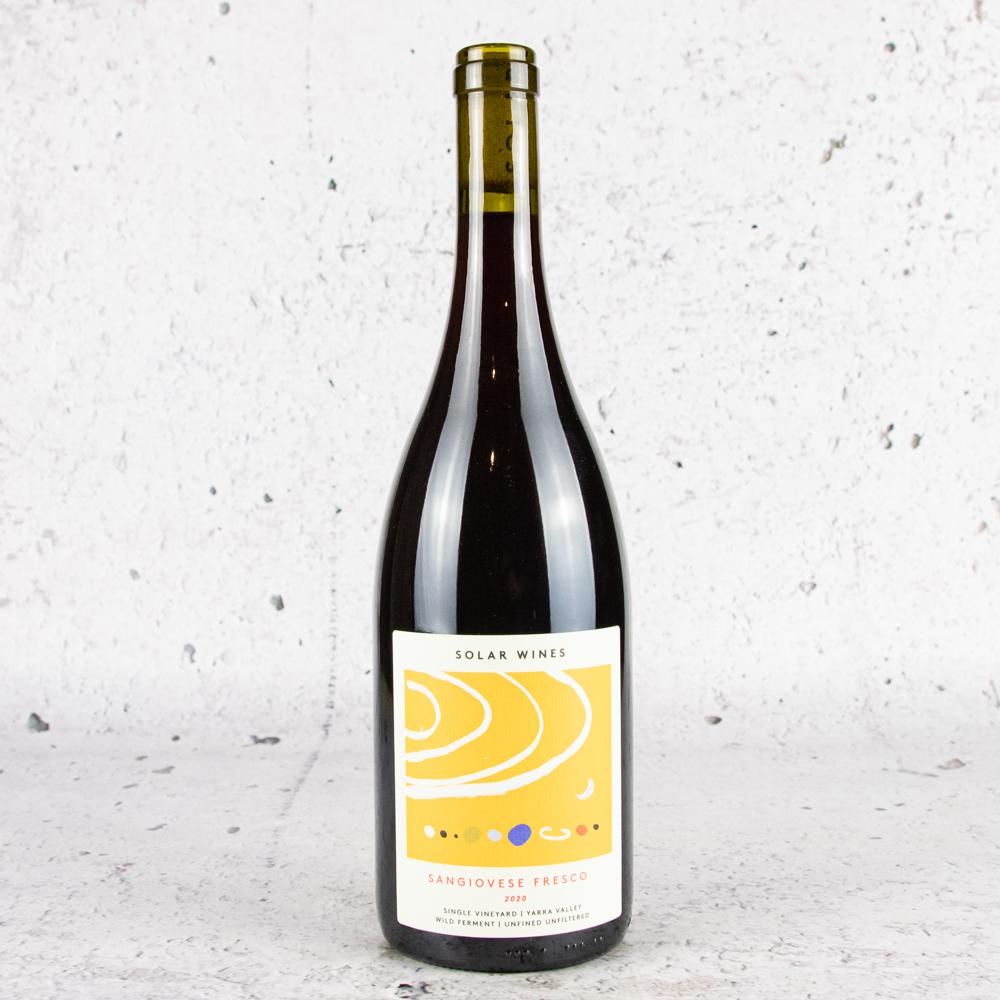 2020 Solar Wines Sangiovese Fresco