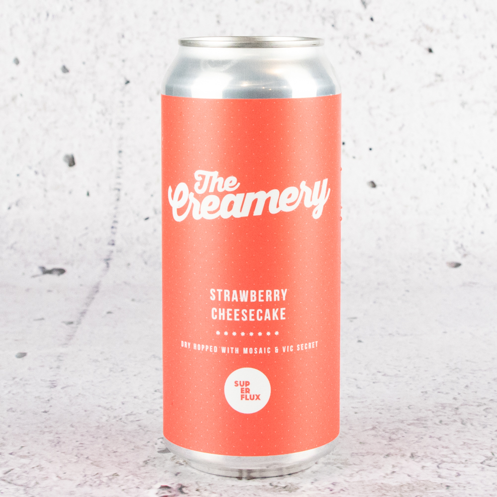 Superflux The Creamery Strawberry Cheesecake Sour