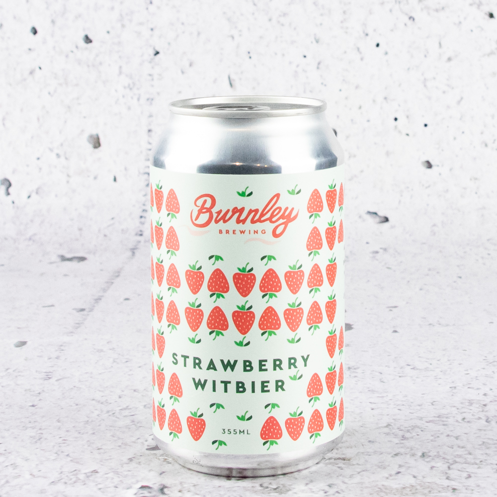 Burnley Strawberry Witbier
