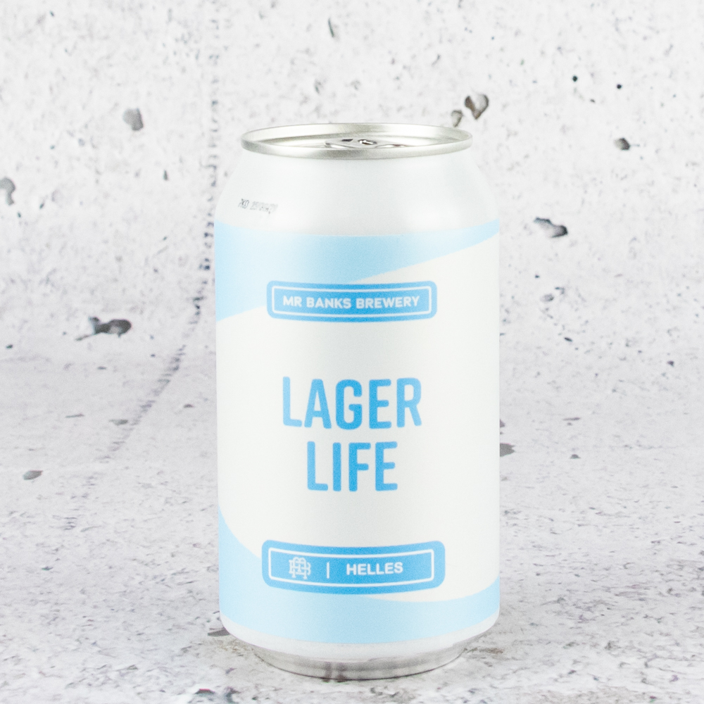 Mr Banks Lager Life Lager